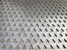 Triangle Opening Perforated Metal Mesh Yingluo